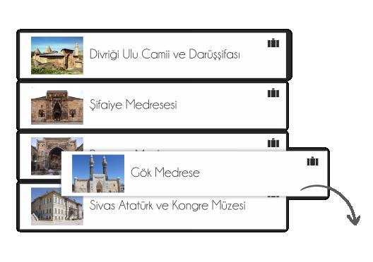 Visit Sivas Gezini Planla Adım 1
